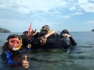 Freediving for children
