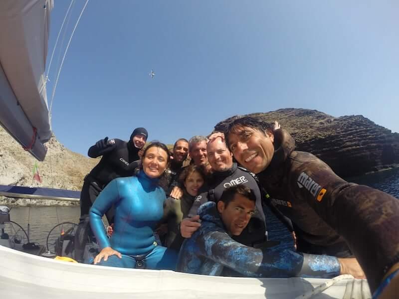 crociere vela apnea katabasis freediving apnea