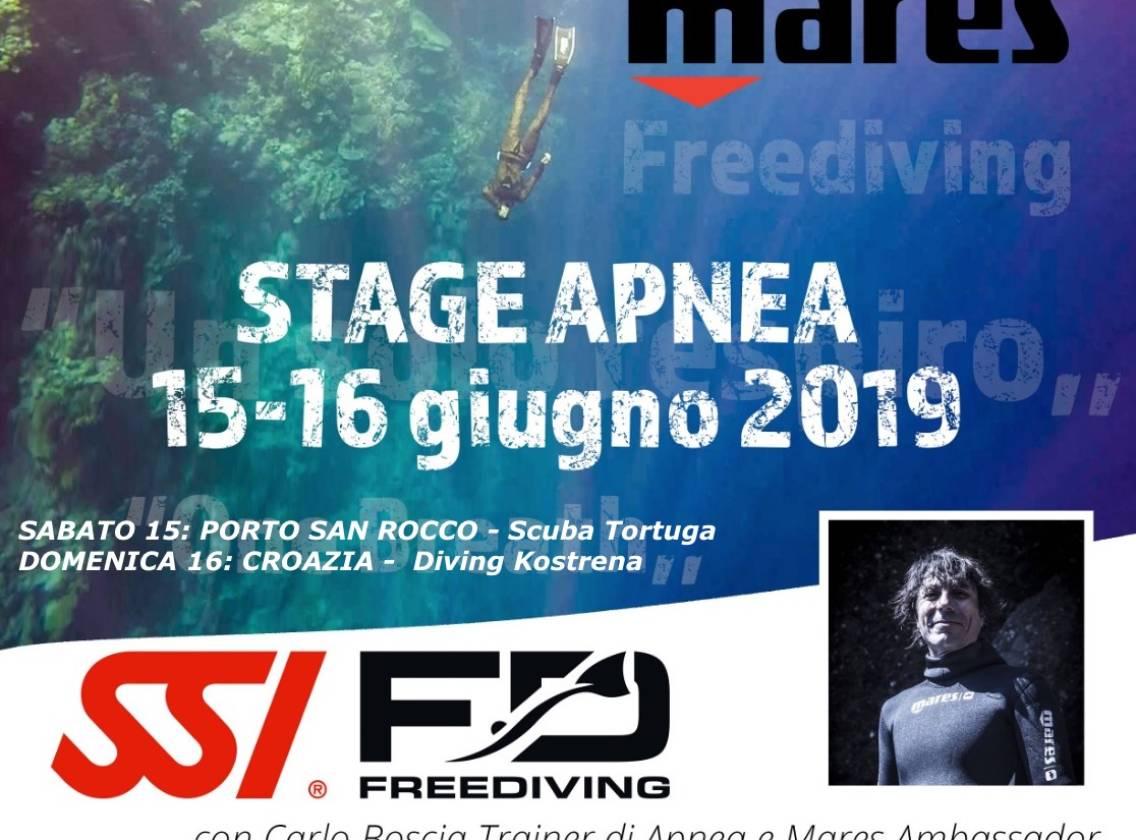 2 giorni di Stage di Apnea: Trieste e Croazia