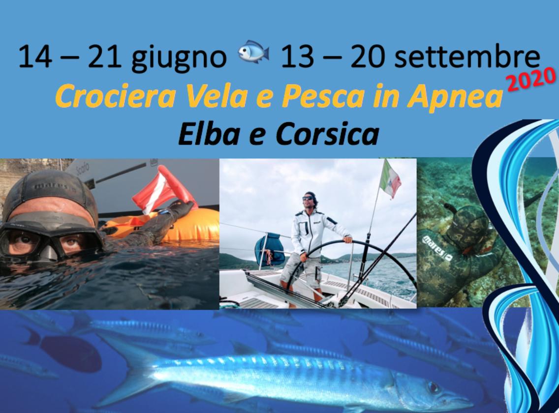 Vela e Pesca in Apnea destinazione Corsica