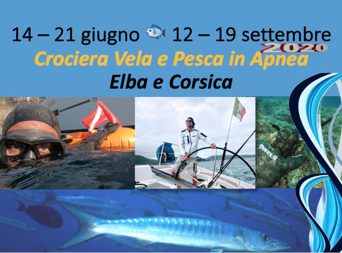 Le crociere Vela e Pesca in Apnea