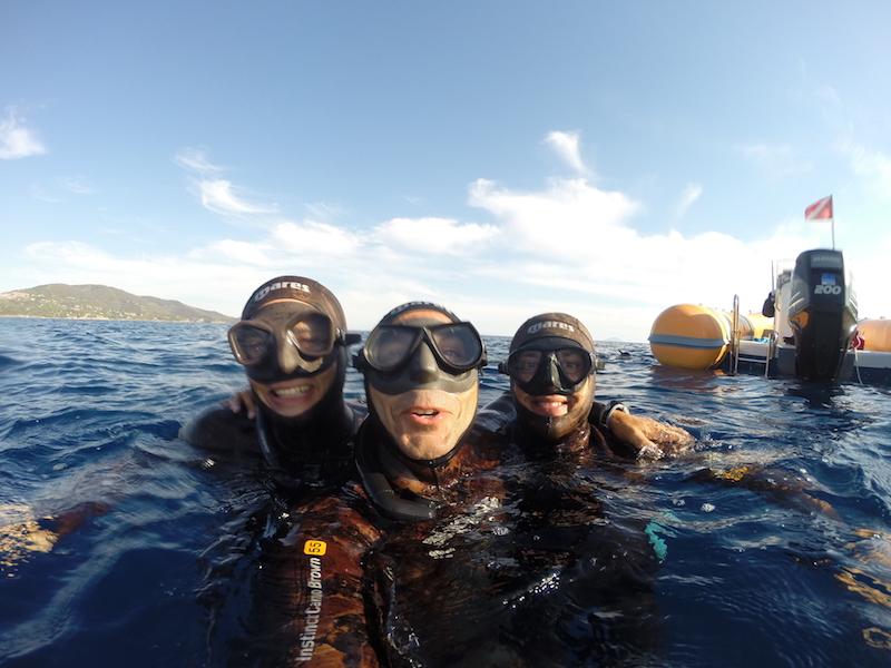 Freediving Training Italy