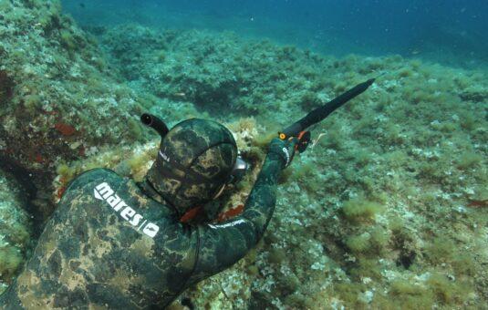 Spearfishing Italy